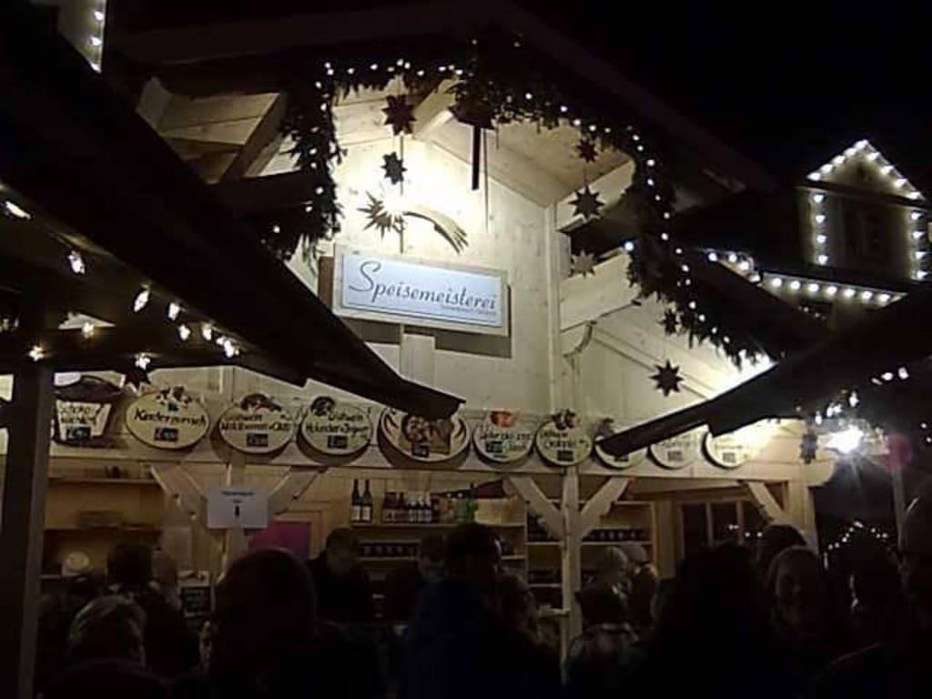 Schwäbisch Gmünd Weihnachtsmarkt.Bild Kein Plastikgeschirr Gut Zu Weihnachtsmarkt Schwäbisch