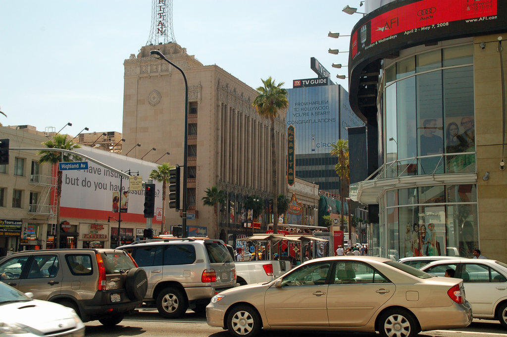Ecke Hollywood & Highland