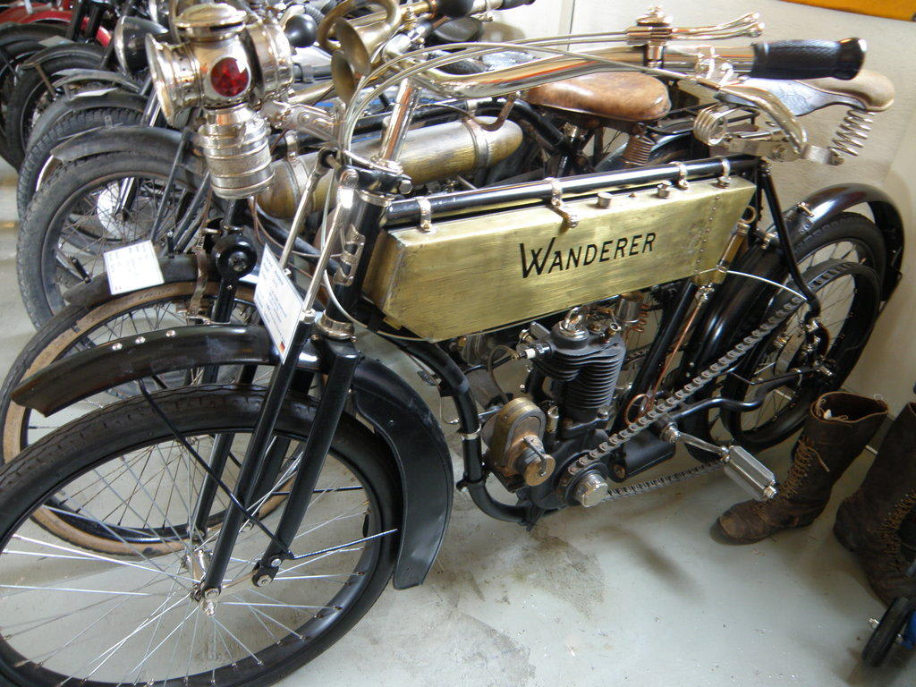 Bild Wanderer Von 1904 Zu Lennart Magnusson Motorrad Museum In