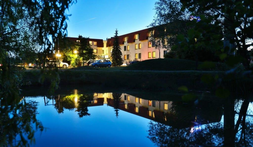 """Bild """"Streichelzoo"""" zu Landhotel Burg im Spreewald in Burg"""
