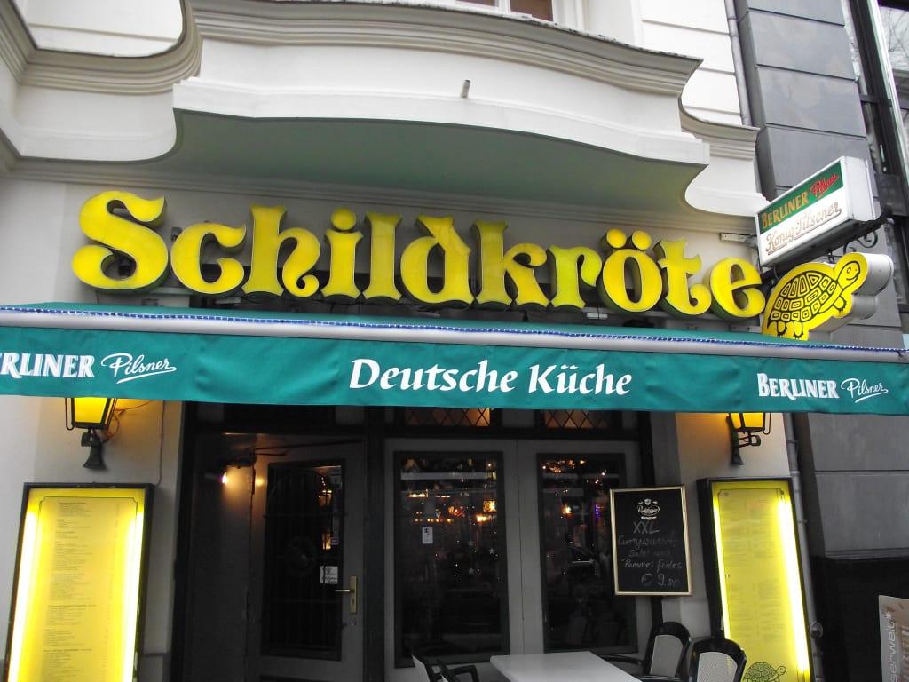 Bild Eingang Zum Restaurant Zu Restaurant Schildkröte In Berlin Mitte