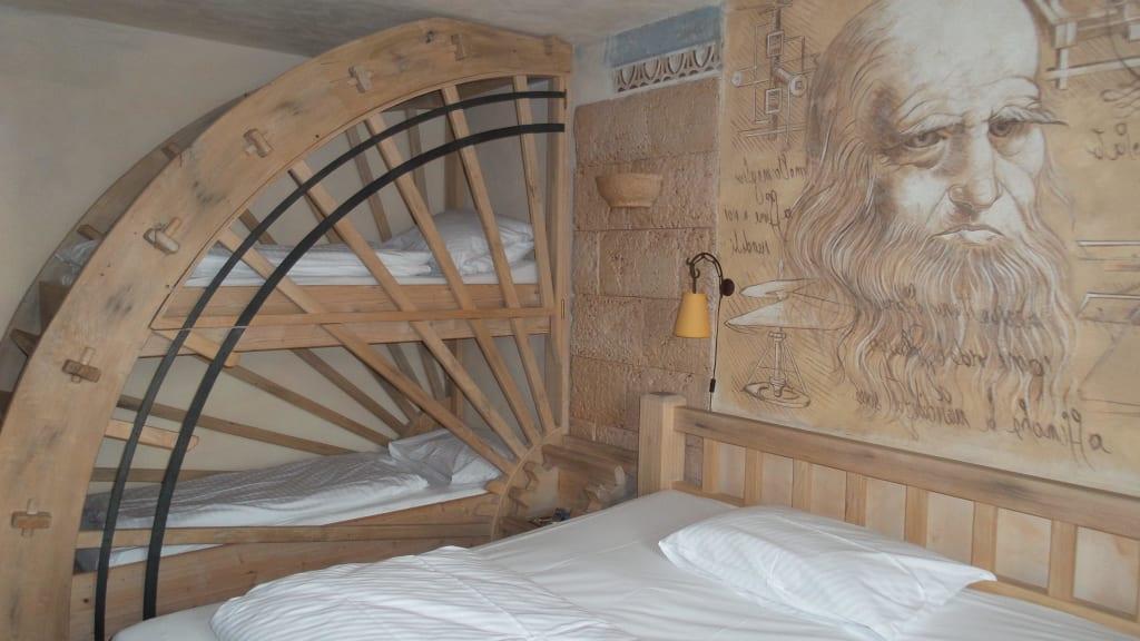 bild doppel und hochbett zu superior erlebnishotel. Black Bedroom Furniture Sets. Home Design Ideas