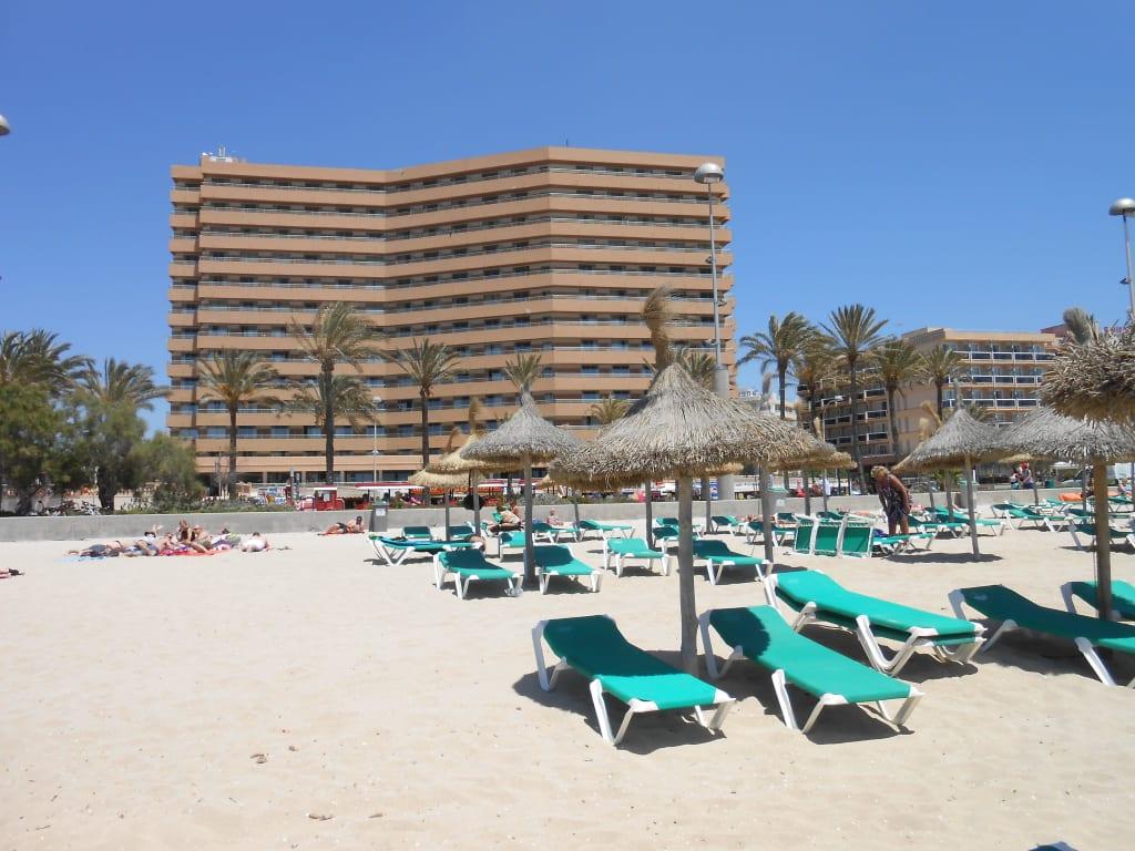 Hotel vom strand bild allsun hotel pil lari playa in for Design hotel mallorca strand