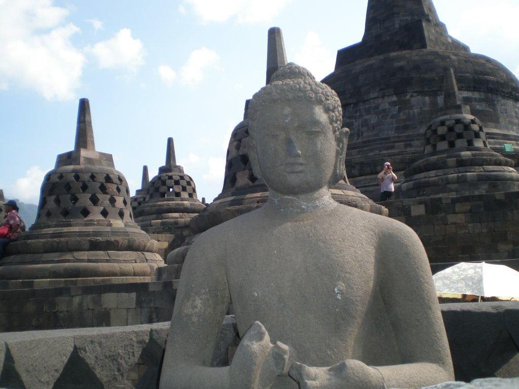 Buddha in Borobudur Tempel Bilder Tempel/Kirche/Grabmal Borobudur