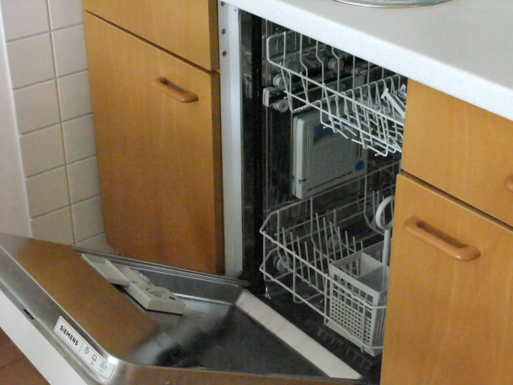 Bild quotmarken spulmaschinequot zu ferienwohnung kleine mowe in for Spülmaschine kleine