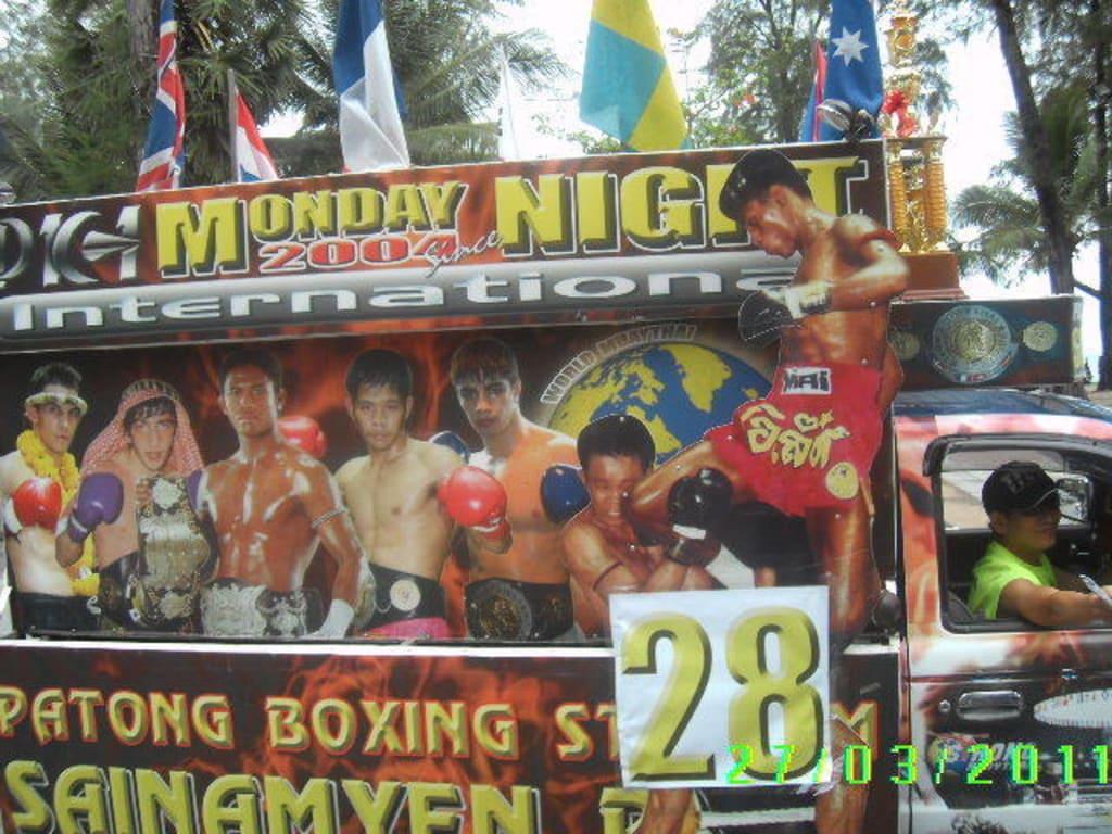 Boxing Werbung