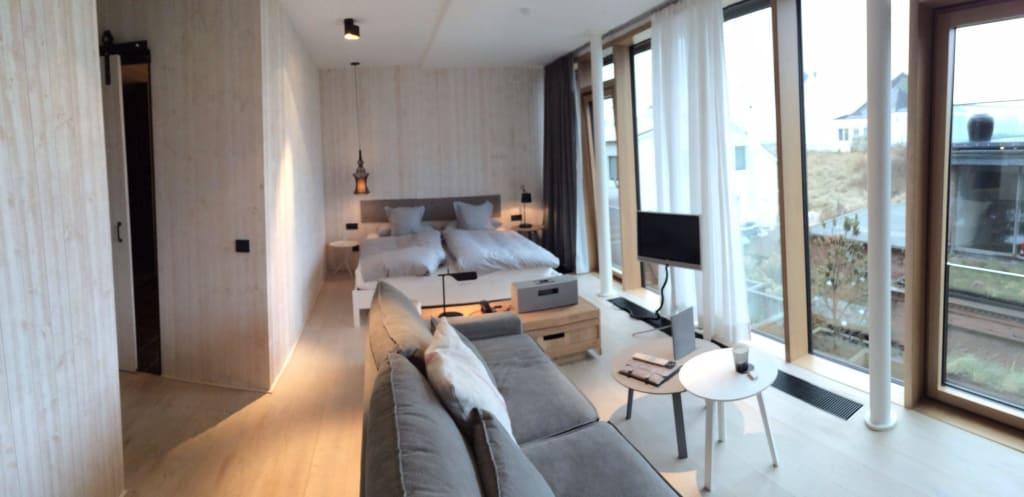 bild appartment zu inselloft norderney in norderney. Black Bedroom Furniture Sets. Home Design Ideas