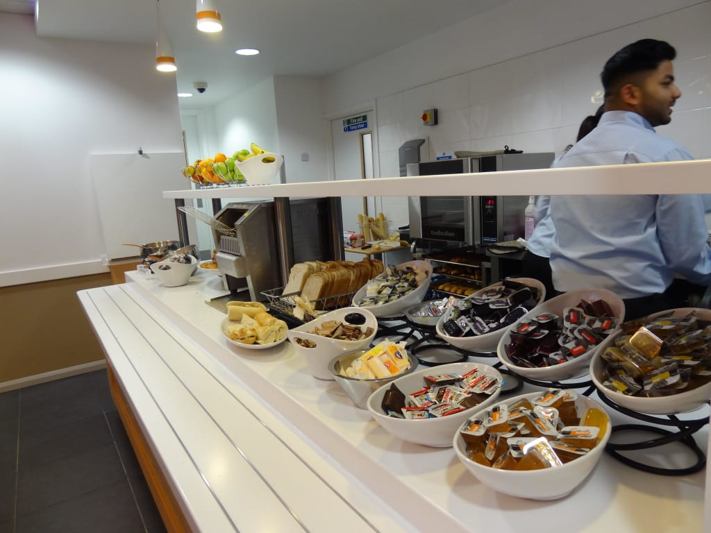 """Bild """"Frühstück"""" zu ibis budget Hotel London Whitechapel in London"""