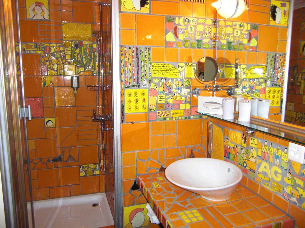Mediterrane Badezimmer Fliesen Bunt ~ Dekoration, Inspiration Innenraum Und  Möbel Ideen