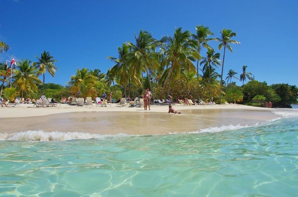 Bacardi Insel Dom Rep Karte.Bild Dominikanische Republik Zu Bacardi Insel Isla Cayo