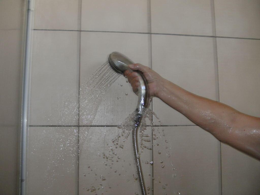 """Die Dusche Ist Kaputt : Bild """"Kaputte Dusche"""" zu Kleopatra Fatih Hotel in Alanya"""