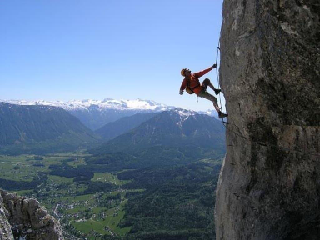 Klettersteig Zillertal : Martinswand klettersteig alpenverein