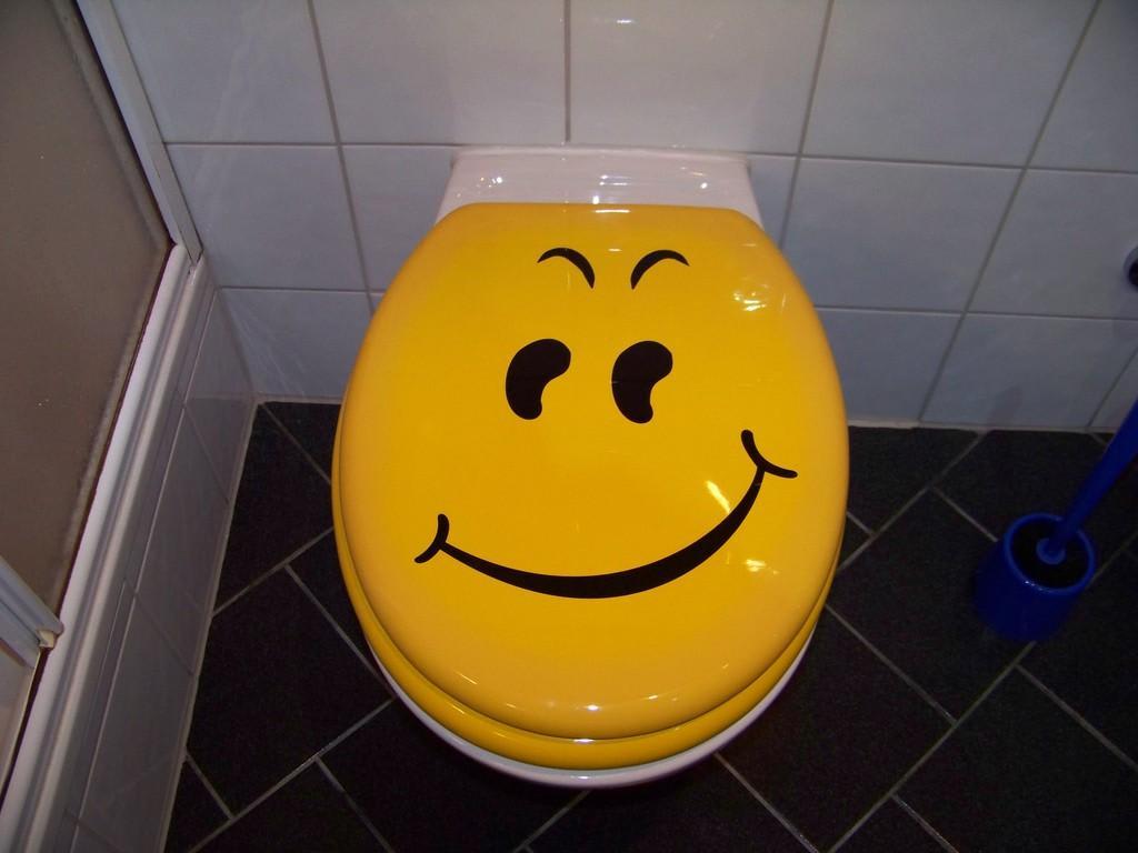 bild wc deckel mit passendem motiv zu smile hotel in. Black Bedroom Furniture Sets. Home Design Ideas