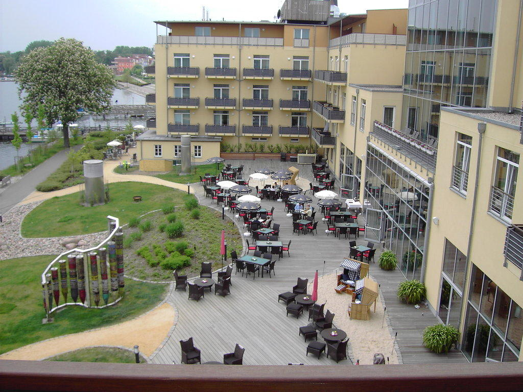 Bild Vom Balkon zu Resort Mark Brandenburg in Neuruppin