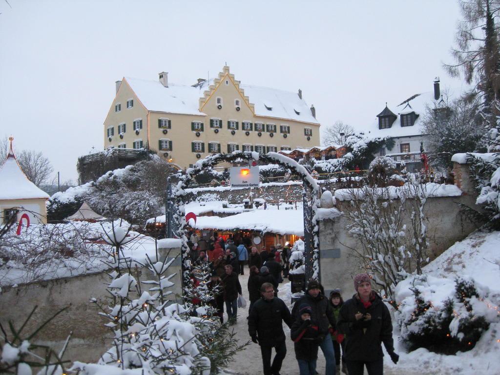 Weihnachtsmarkt Hexenagger.Bild Schloss Hexenagger Zu Weihnachtsmarkt Schloss Hexenagger