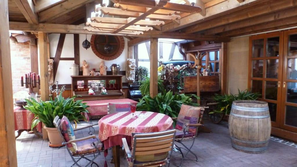 Bild wintergarten zu landhaus burg hotel romantik in gotha - Wintergarten mobel landhaus ...