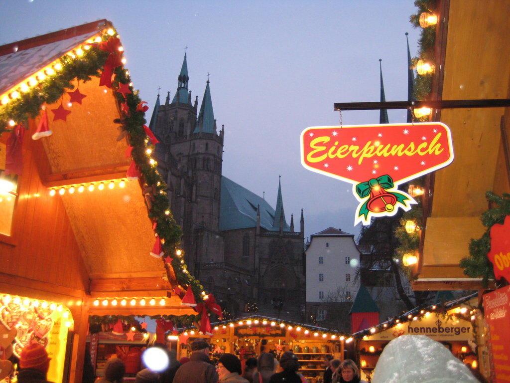 Weihnachtsmarkt Erfurt.Bild Erfurter Weihnachtsmarkt Zu Weihnachtsmarkt Erfurt In Erfurt