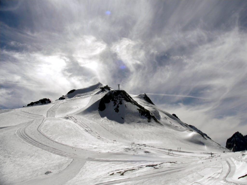 Bild Gletscher La Grande Motte Zu Tignes In Tignes