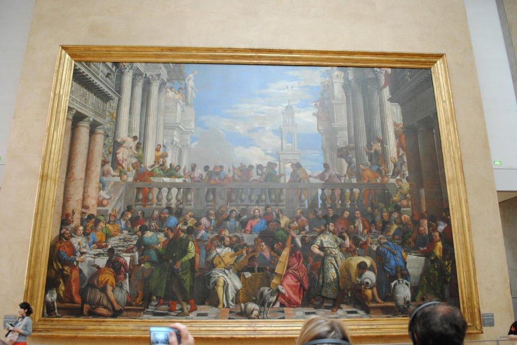 Bild Die Hochzeit Zu Kana Zu Louvre In Paris