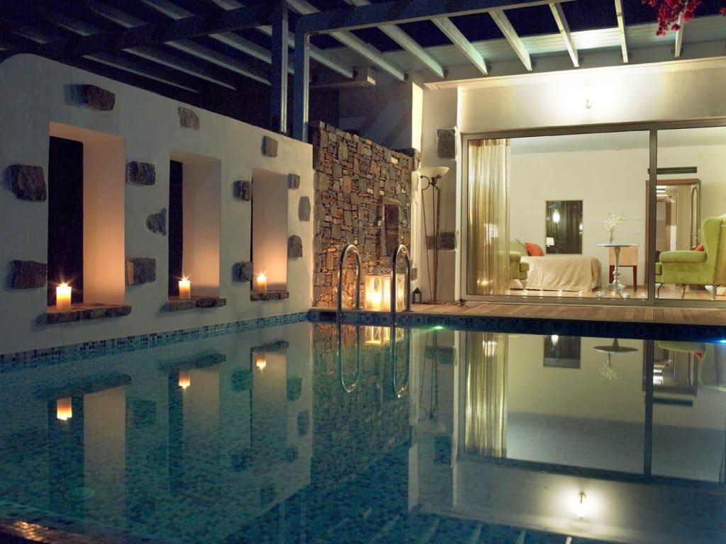 bild family bungalow with pool zu hotel atrium prestige thalasso spa resort villas in lachania. Black Bedroom Furniture Sets. Home Design Ideas