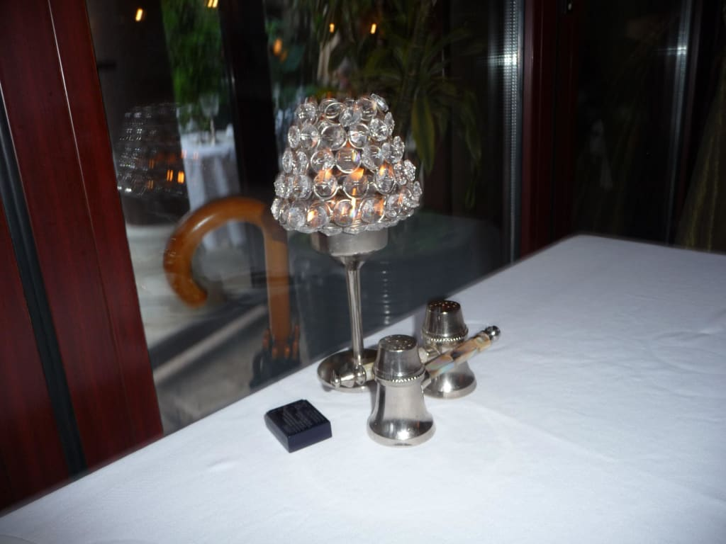 Bild Tischdeko Zu Restaurant Seraser In Antalya
