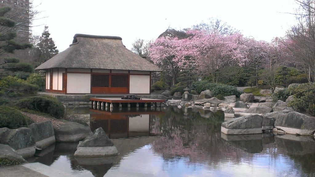 Bild Japanischer Garten Zu Parkanlage Planten Un Blomen In Hamburg
