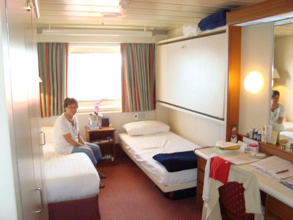 bild kabine auf apollo deck 6 mit sichtbehinderung zu ms. Black Bedroom Furniture Sets. Home Design Ideas