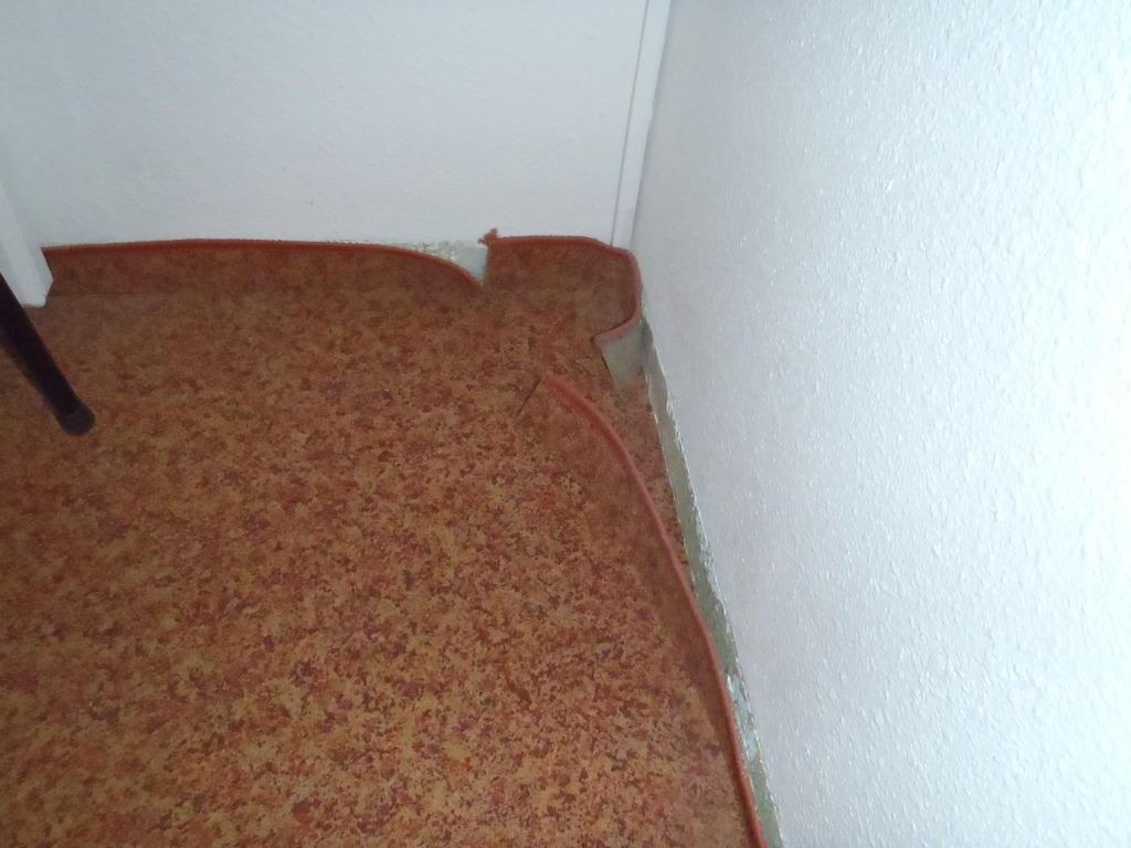 Bild Teppich löst sich ab zu Hotel Ibis Nürnberg
