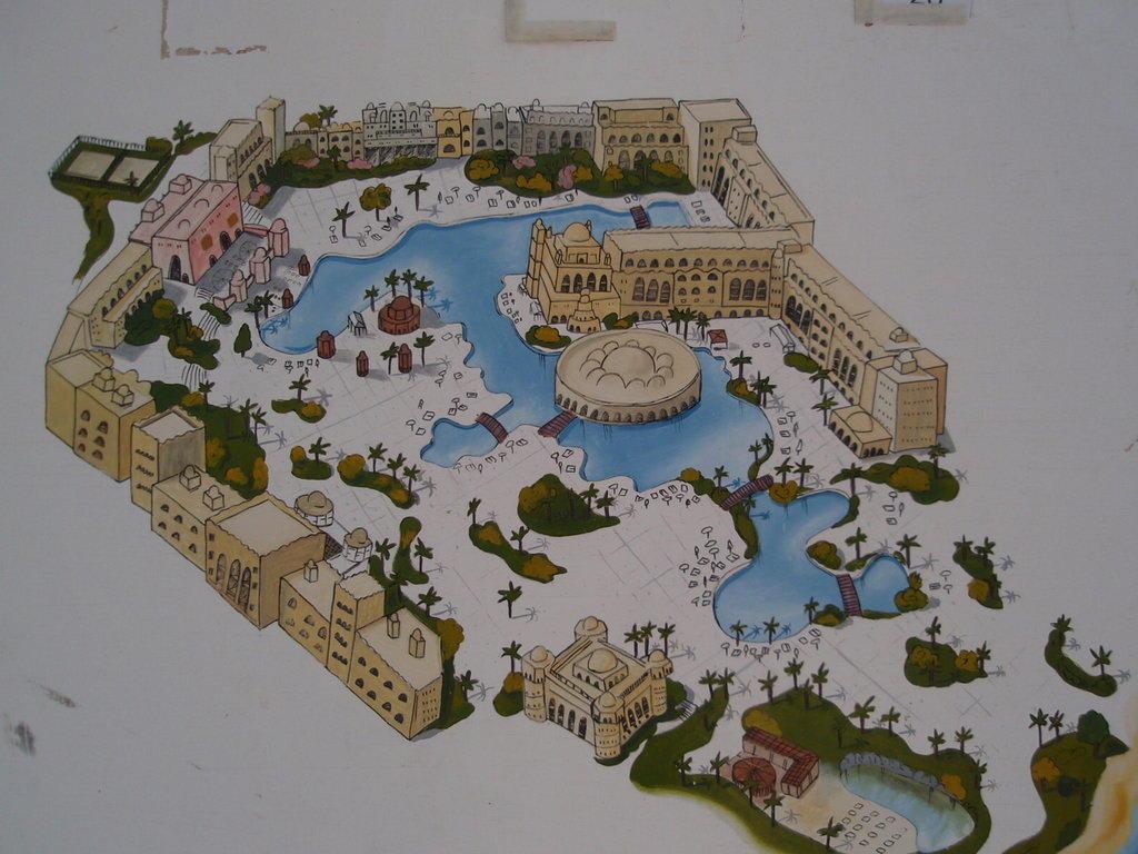 Bild Quot Karte Von Der Anlage Quot Zu Hotel Makadi Palace In
