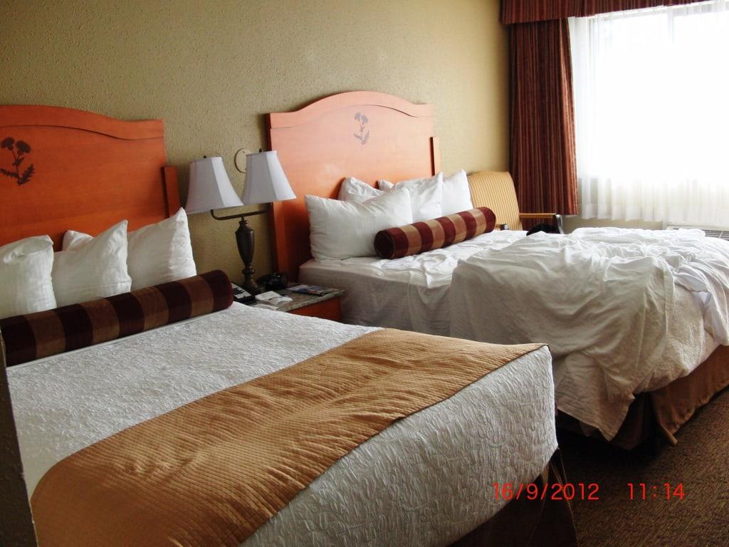 bild gro e betten zu best western hotel abercorn inn in. Black Bedroom Furniture Sets. Home Design Ideas