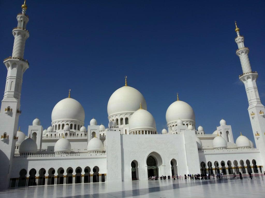 Bild Sheikh Zayed Moschee in Abu Dhabi zu Scheich Zayed