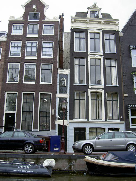 bild das kleinste haus zu zentrum amsterdam in amsterdam. Black Bedroom Furniture Sets. Home Design Ideas