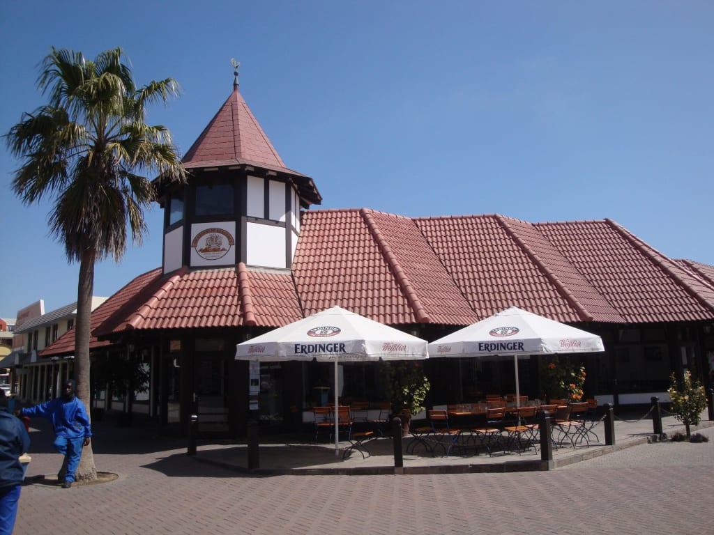 Das Brauhaus  von aussen Bilder Restaurant Swakopmund Brauhaus