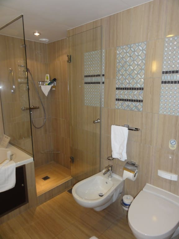 bild wc bidet dusche zu allure of the seas in. Black Bedroom Furniture Sets. Home Design Ideas