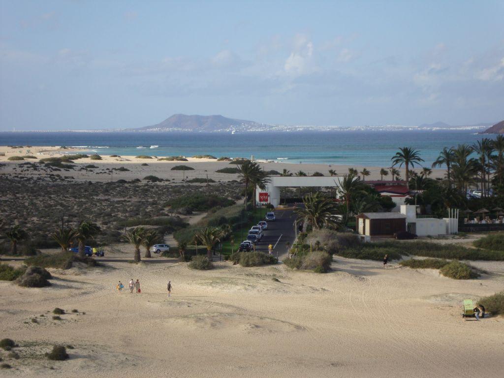 Bild meerblick zu hotel riu oliva beach village resort for Riu oliva beach village