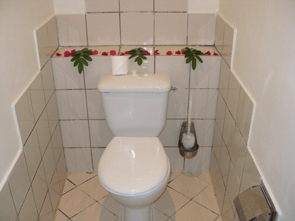 Bild rosen deko auch im separaten wc zu lti hotel mahdia for Zimmer deko rosen