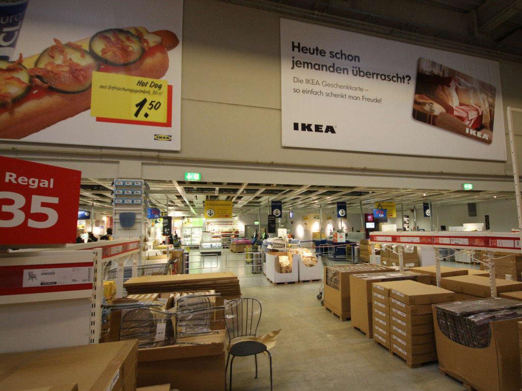 Bild Kassenbereich Zu Ikea Großburgwedel In Großburgwedel