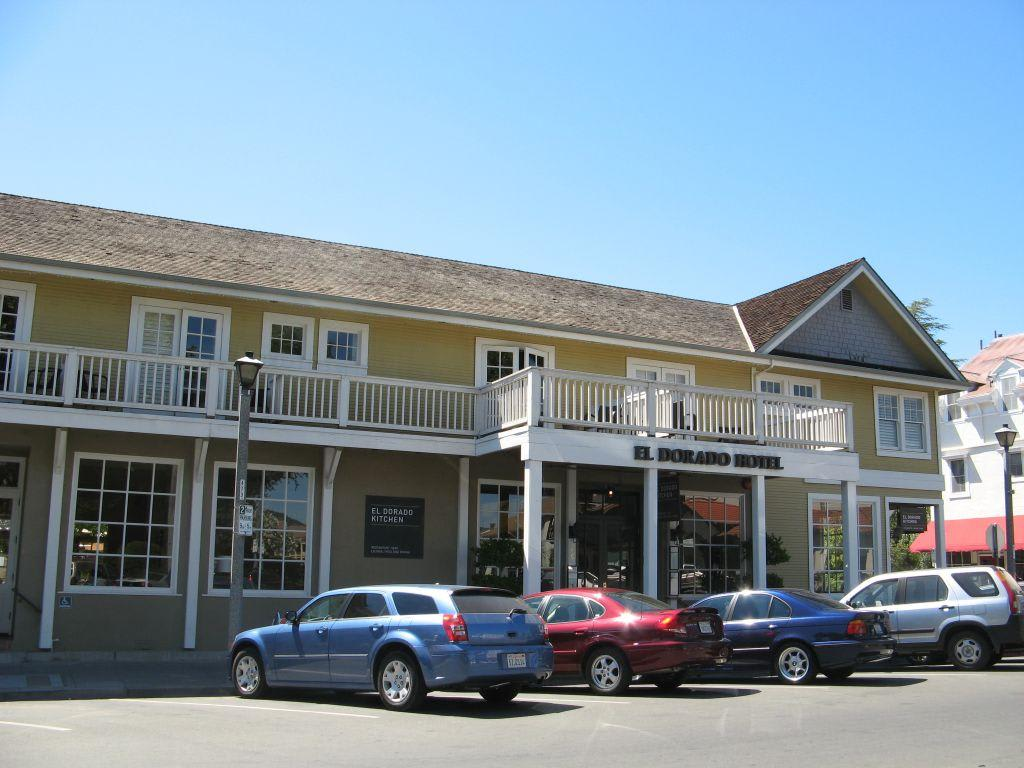 bild el dorado hotel kitchen in sonoma kalifornien zu el d