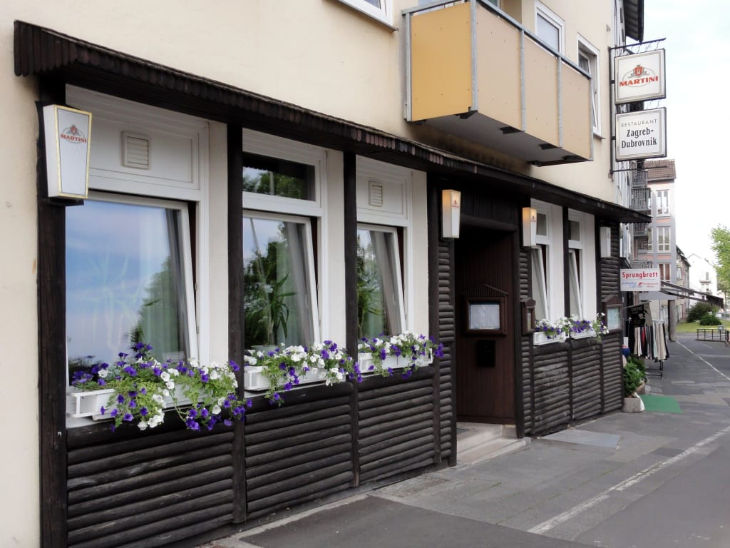 Bild Aussenansicht Des Restaurants Zu Restaurant Zagreb Dubrovnik In Kassel