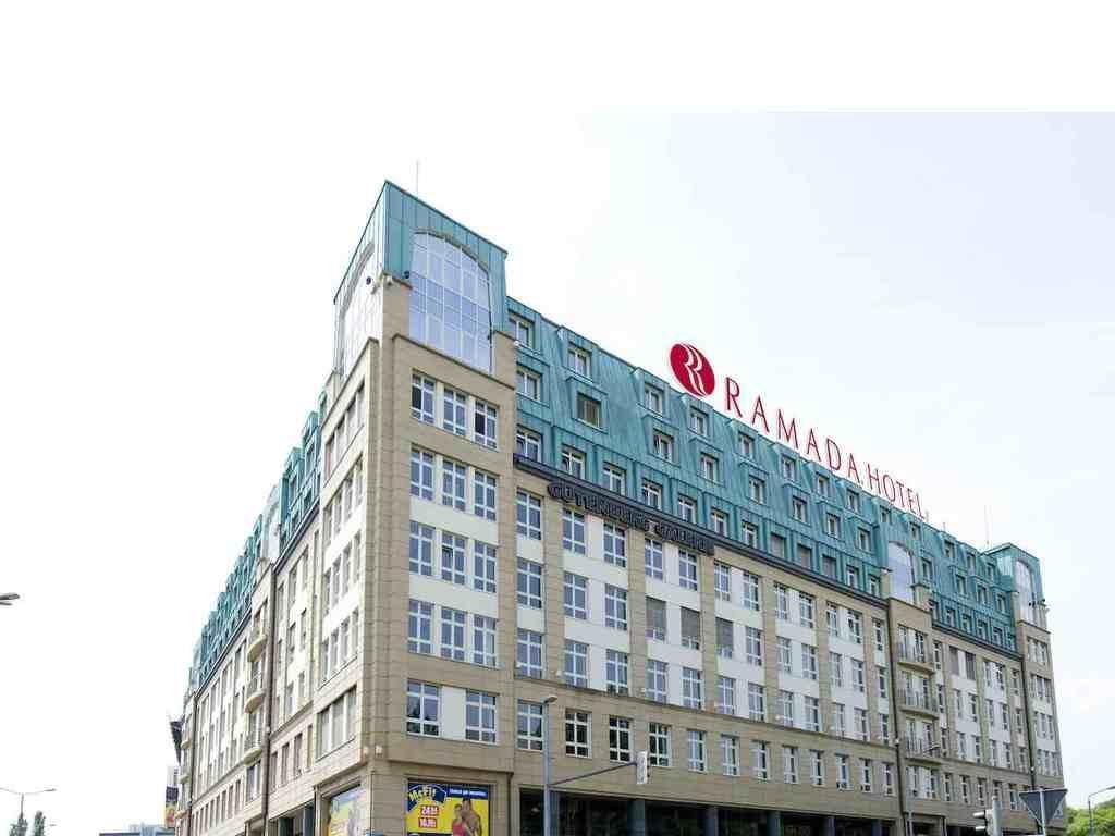 bild au enansicht zu ramada hotel leipzig city centre in leipzig. Black Bedroom Furniture Sets. Home Design Ideas