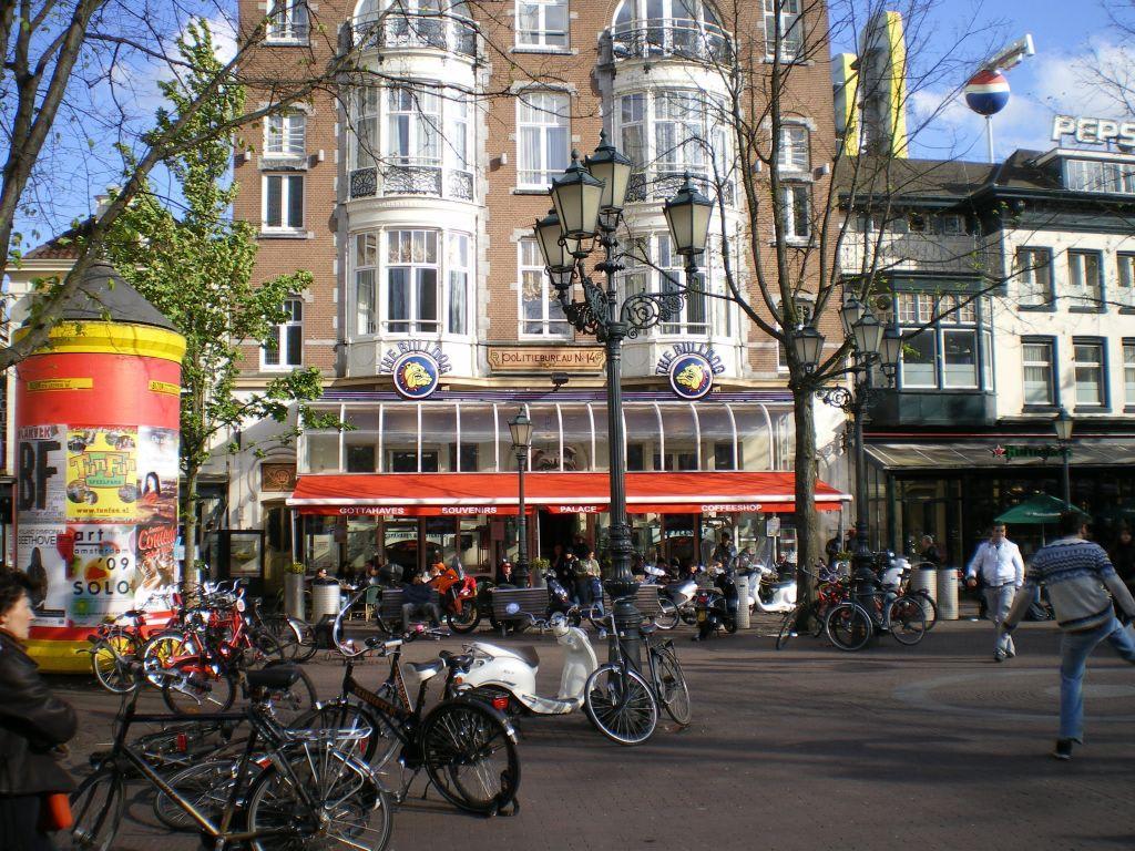 Bild The Bulldog Cafe Leidseplein Zu Zentrum Amsterdam