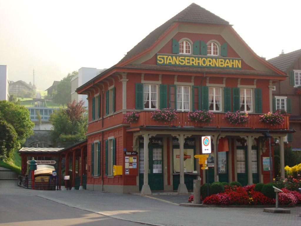 Talstation Stanserhorn-Bahn Bilder Sonstige Gebäude Stanserhorn
