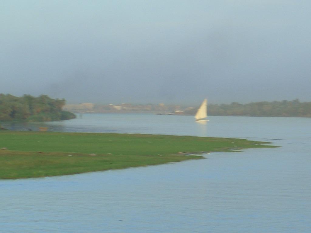Auf dem Nil Bilder Ausblick MS Orchestra  (Flussschiff)