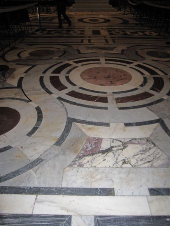 bild marmorboden zu kathedrale santa maria del fiore in. Black Bedroom Furniture Sets. Home Design Ideas