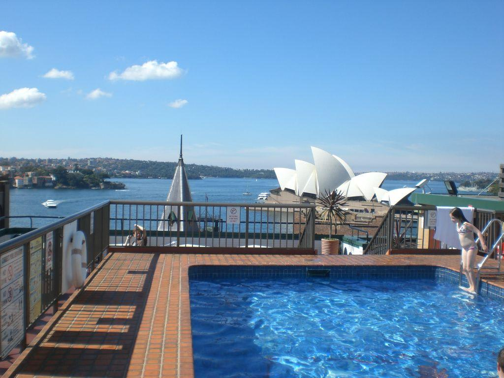 Bild Quot Dach Pool Quot Zu Hotel Old Sydney Holiday Inn In Sydney