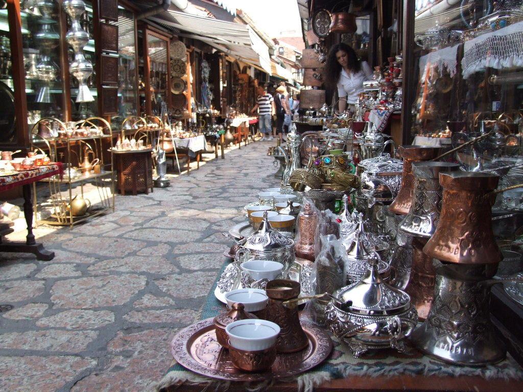 Baščaršija Bilder Markt/Bazar/Shop-Center Handwerksviertel Baščaršija
