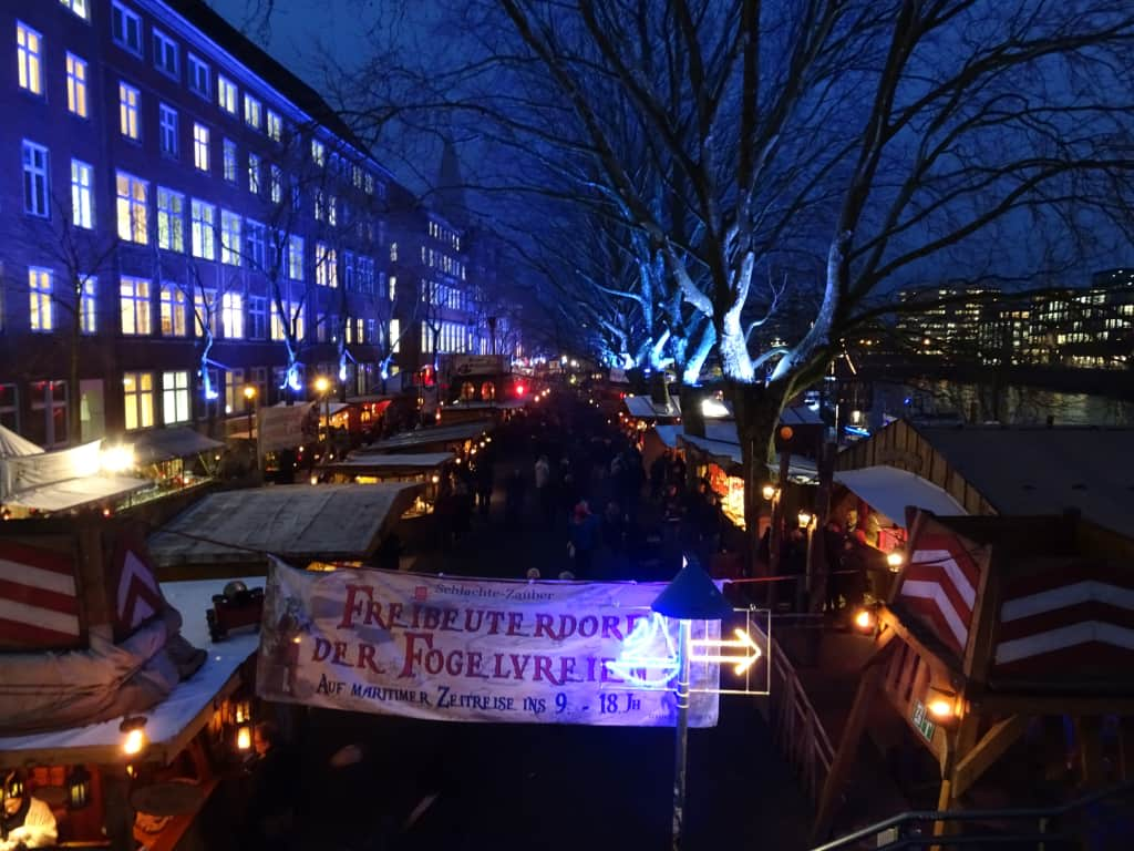 Bremen Weihnachtsmarkt.Bild Rundgang über Den Bremer Weihnachtsmarkt Zu Bremer