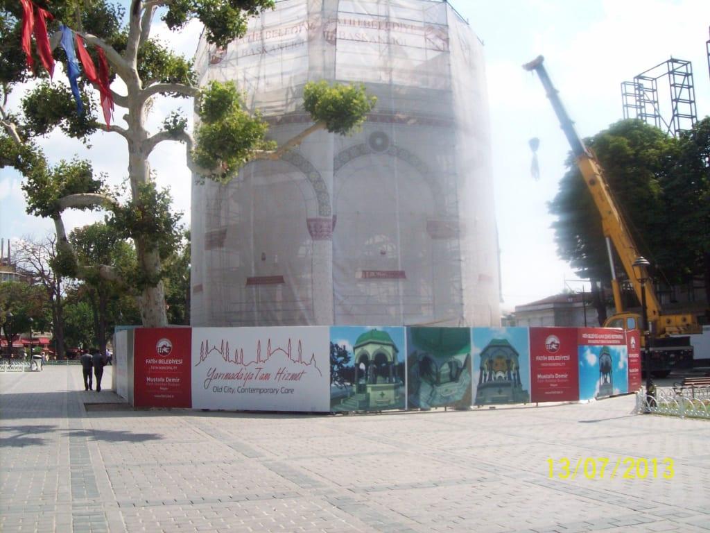 Deutscher Brunnen zZ. wird leider restauriert Bilder Sonstige Sehenswürdigkeit Istanbul