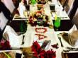 Geburtstagstisch beim Galadinner - Sensimar Makadi Hotel