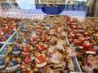 Stände auf dem Christkindlesmarkt